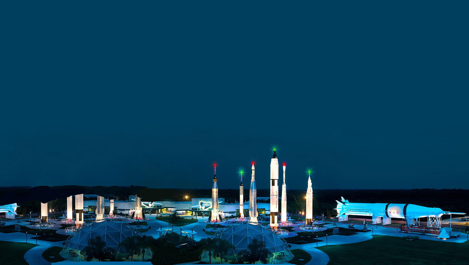 Kennedy Space Center which features a number of incredible exhibits and displays