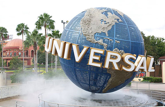 Universal Studios nation's most visited theme parks