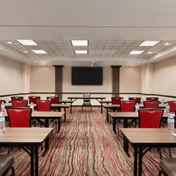 fully equipped comfortable and spacious meeting room