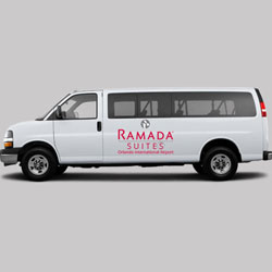 Ramada Orlando International free van shuttle pickup